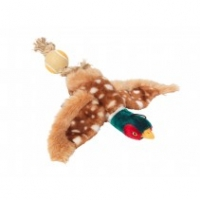 House Of Paws Pheasant With Rope Tail & Tennis Bal Gift