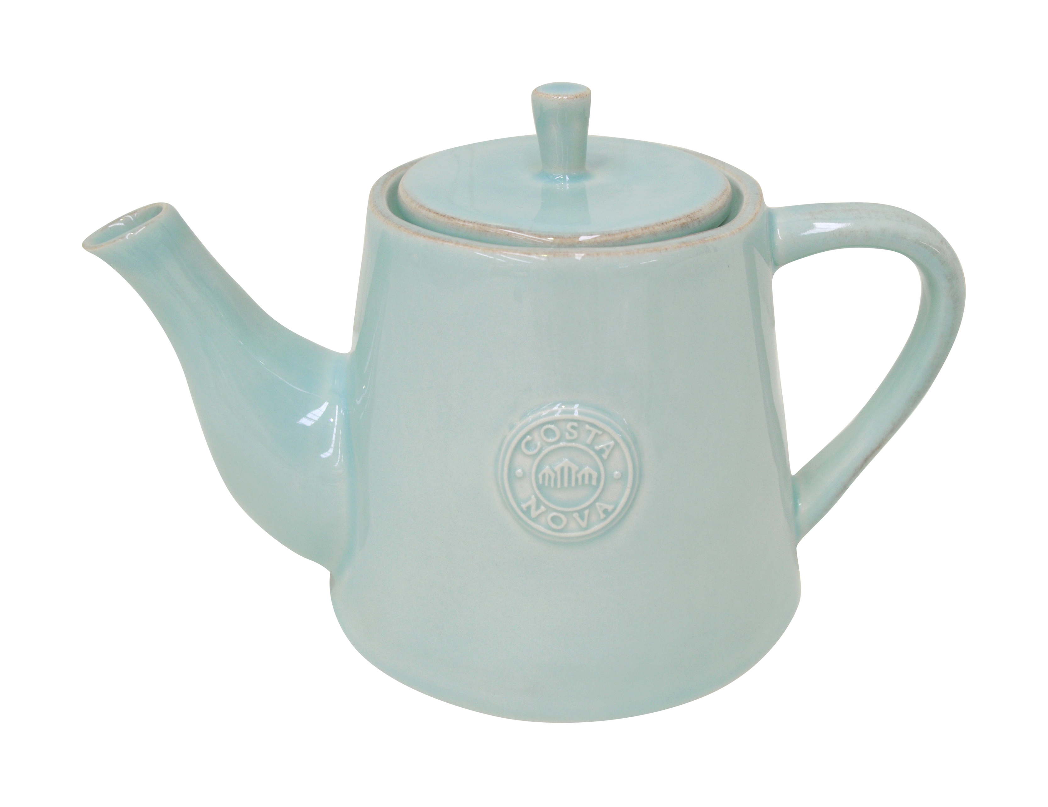 Nova Turquoise Tea Pot Large 1.08l Gift