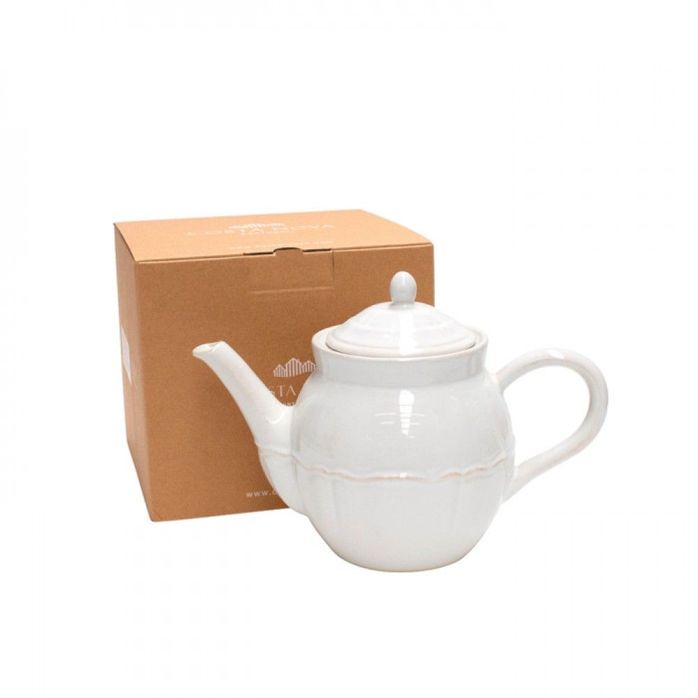 Costa Nova Gift Alentejo White Tea Pot Large Gift