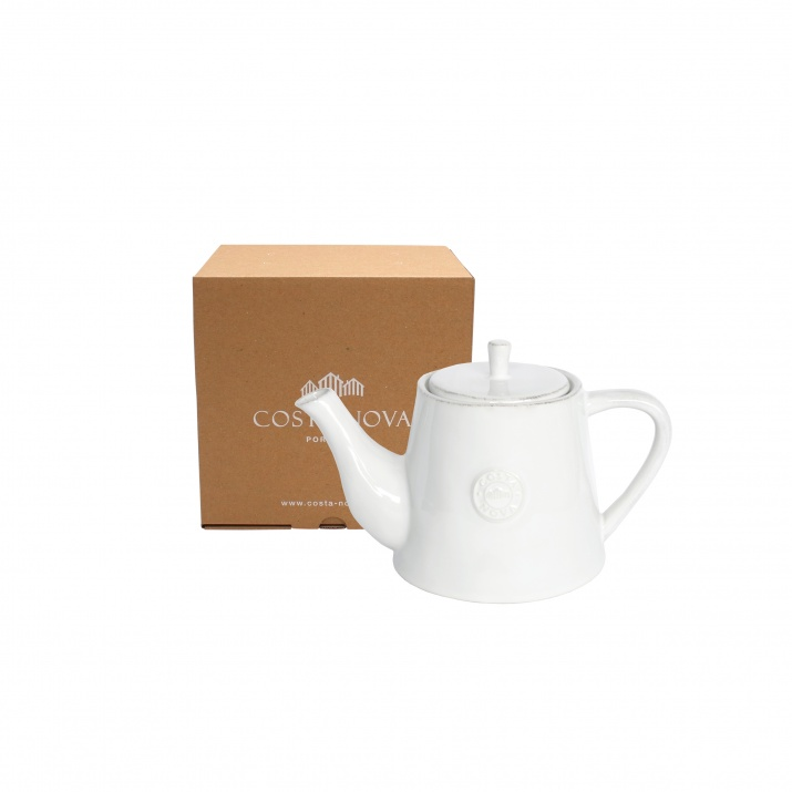 Costa Nova Gift Nova White Tea Pot Large Gift