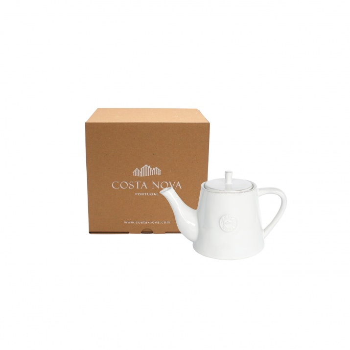 Costa Nova Gift Nova White Tea Pot Small Gift