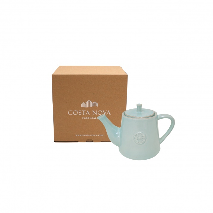 Costa Nova Gift Nova Turq Tea Pot Small Gift