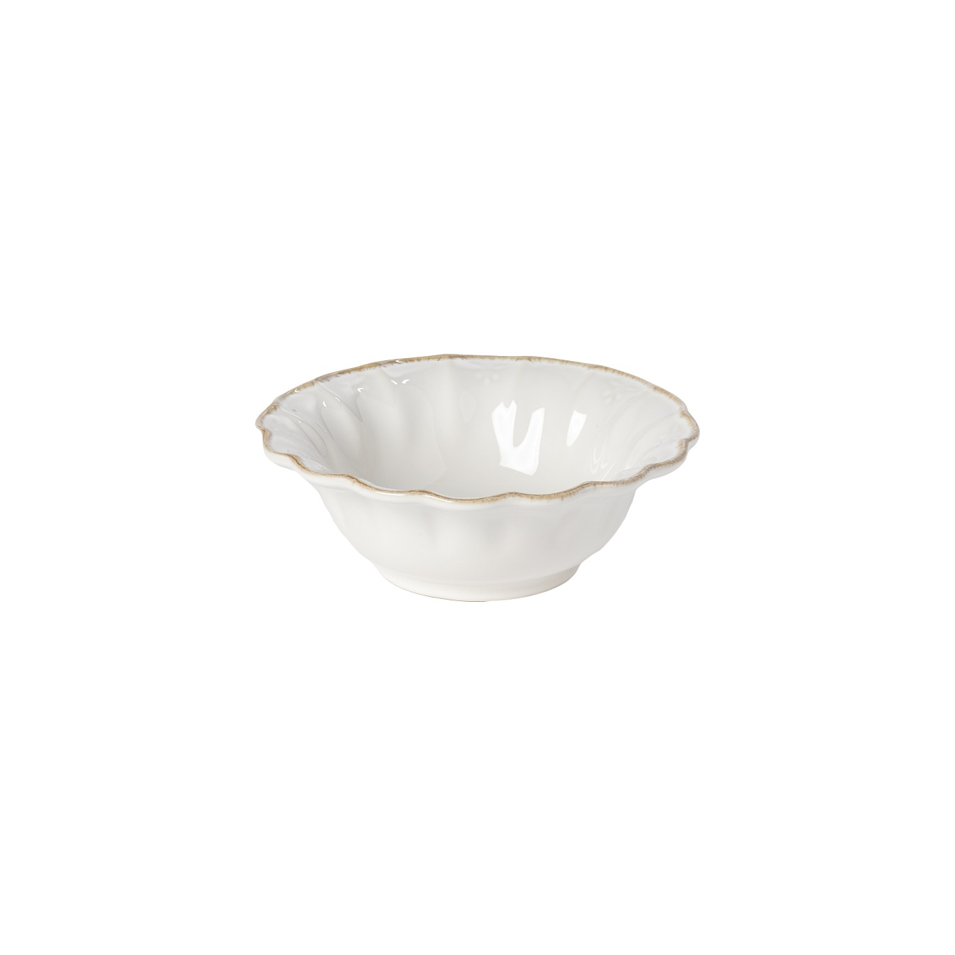 Valentina White Soup/cereal Bowl 16cm Gift